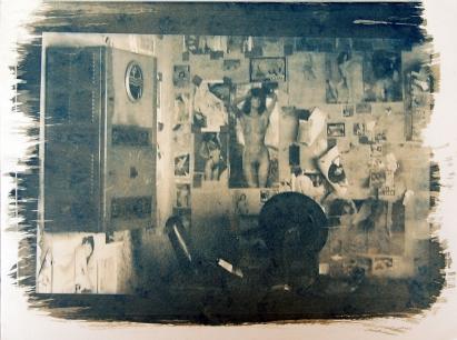 revelação em cianotipia, 24x32cm, 2007