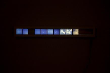 Infinito, diapositivo,10x80cm, 2015