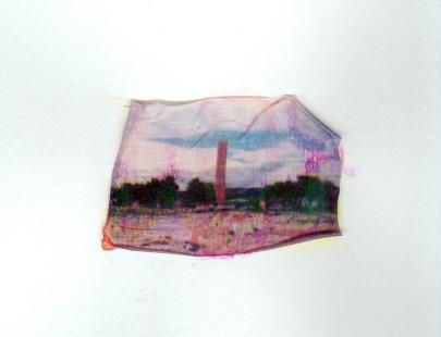 Papódromo, Transferência de imagem sobre papel, 45x63cm, 2015